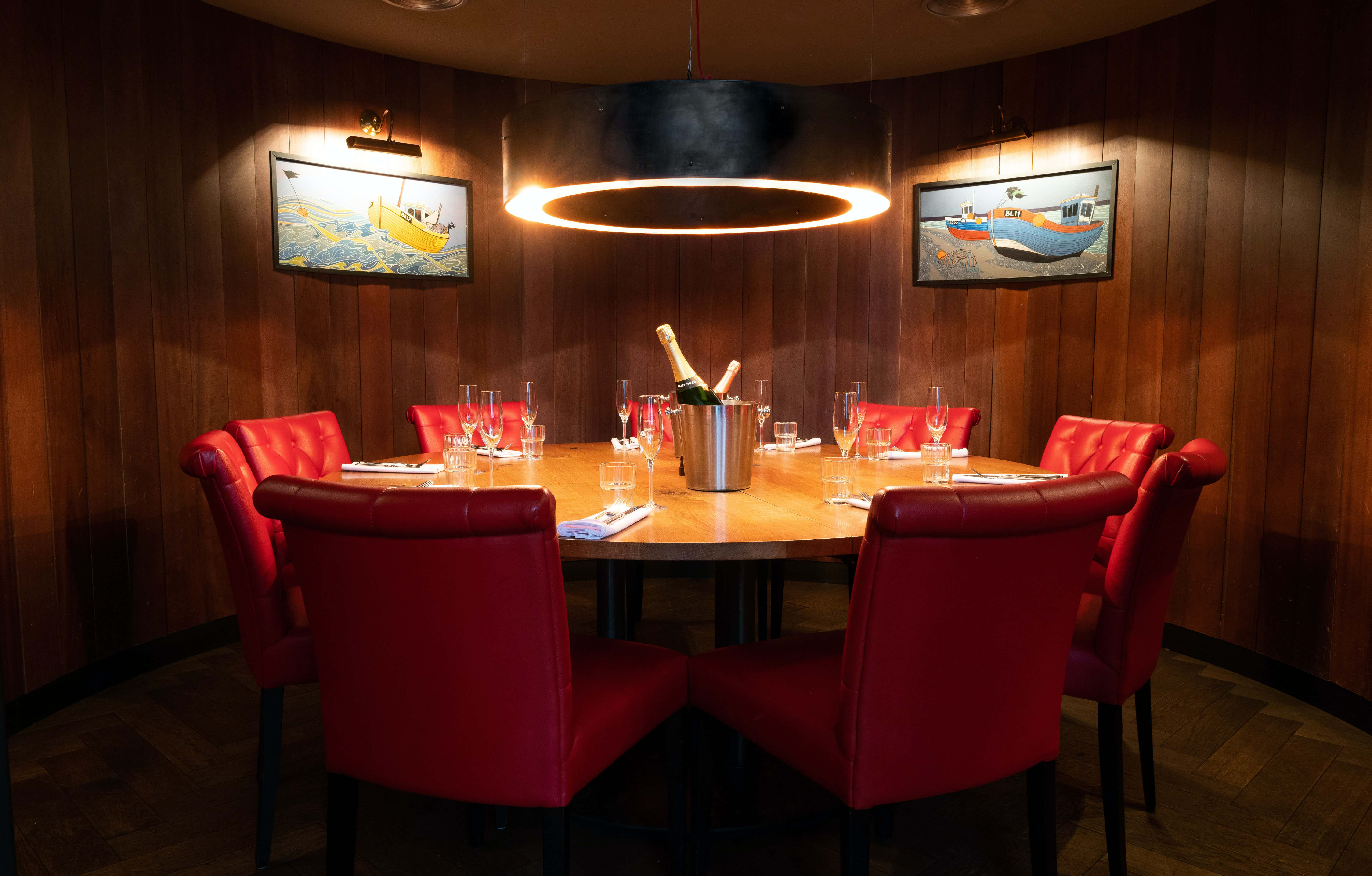 The Round Room, Burger and Lobster Threadneedle