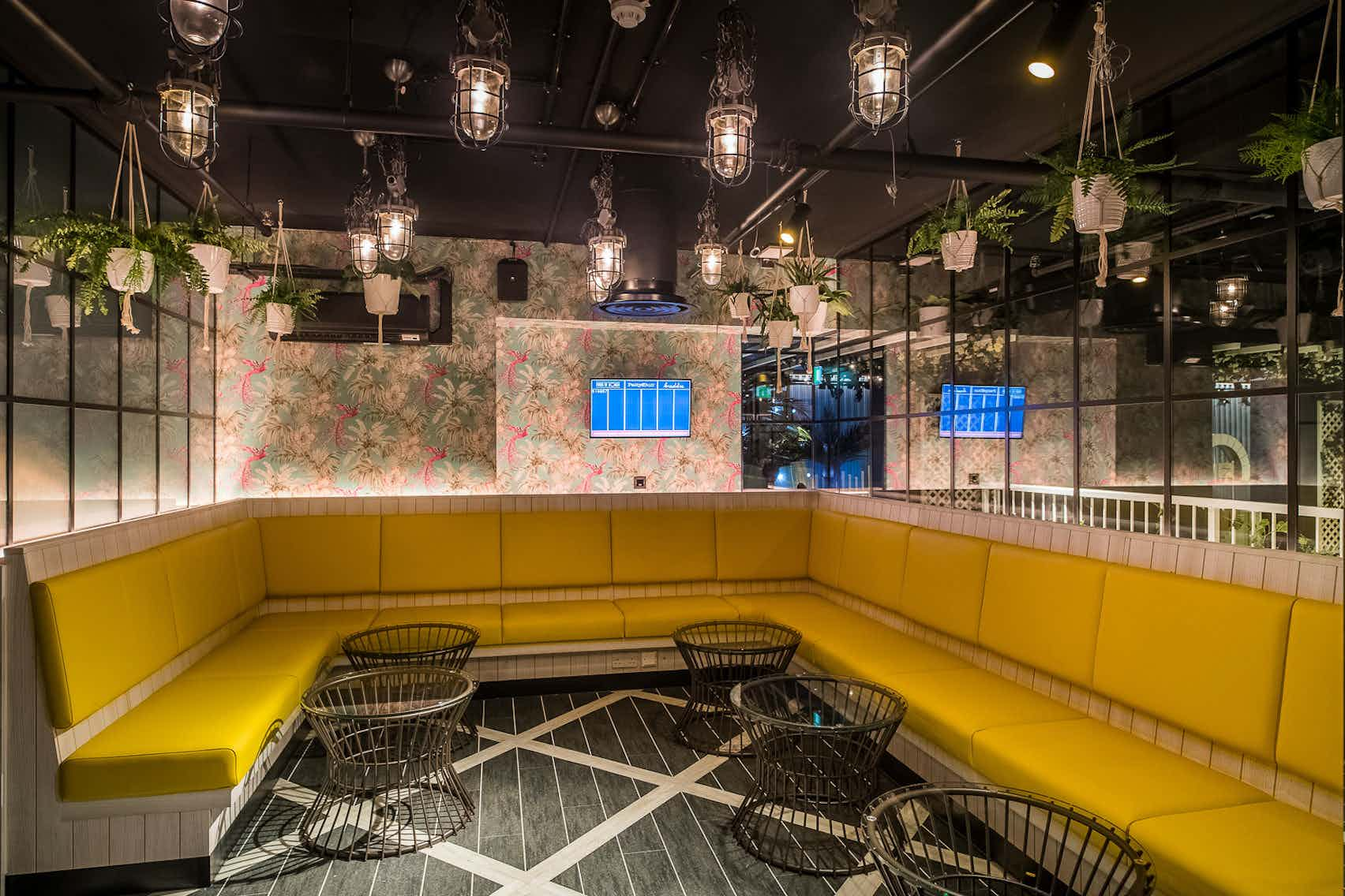Private Dining Rooms, Swingers West End