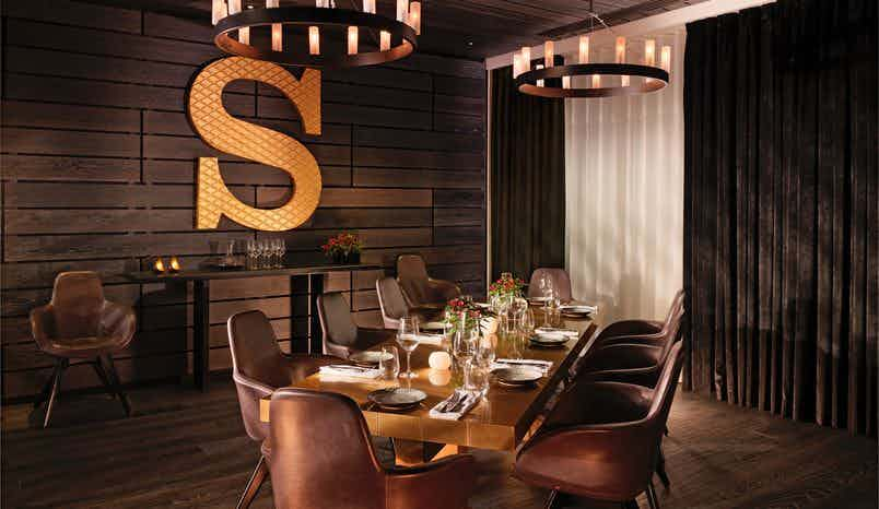Sea Containers Restaurant Private Dining Room, Sea Containers Hotel