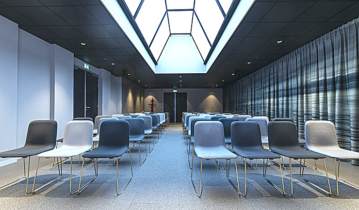The Skyscape **The sky is the limit in this eye-catching Amsterdam conference Space**