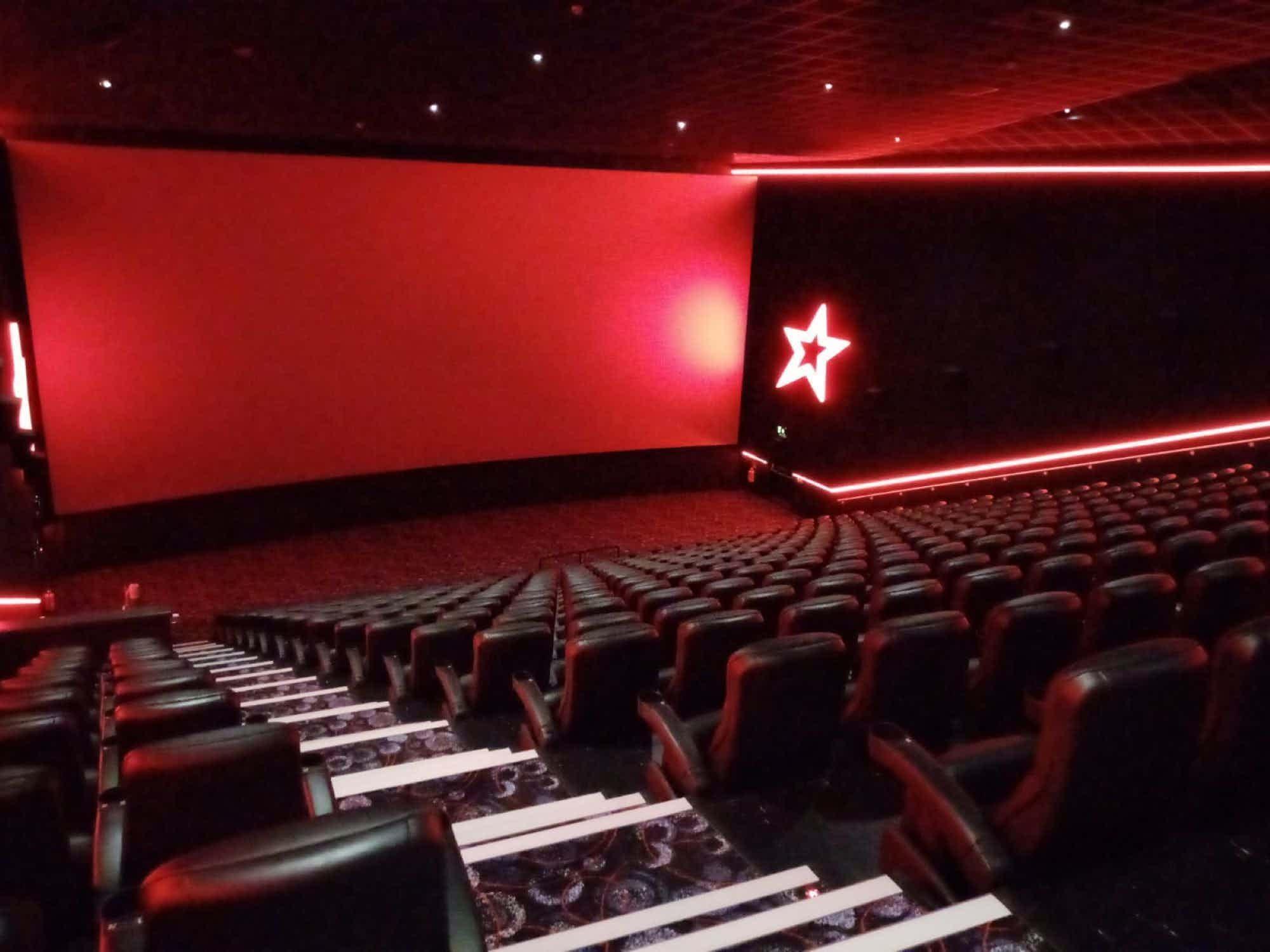 Standard Screen- Screen 16, Cineworld O2