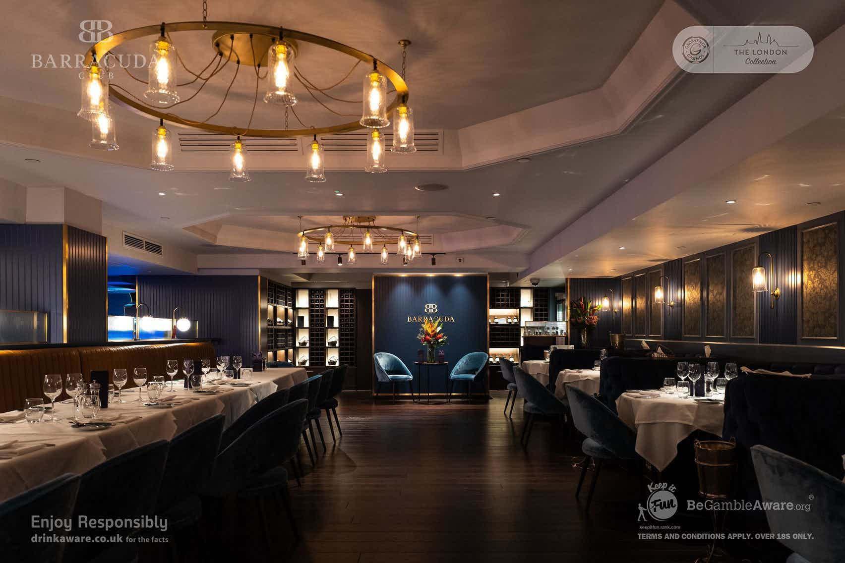 The Restaurant, Barracuda Casino