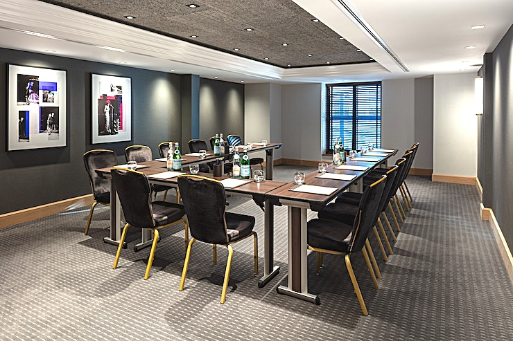 Private Room 12 **Hold your next meeting, conference or private dinner in Private Room 12 at Radisson Blu Edwardian Manchester Free Trade Hall**  Private Room 12 is the perfect Space for your next company event. With