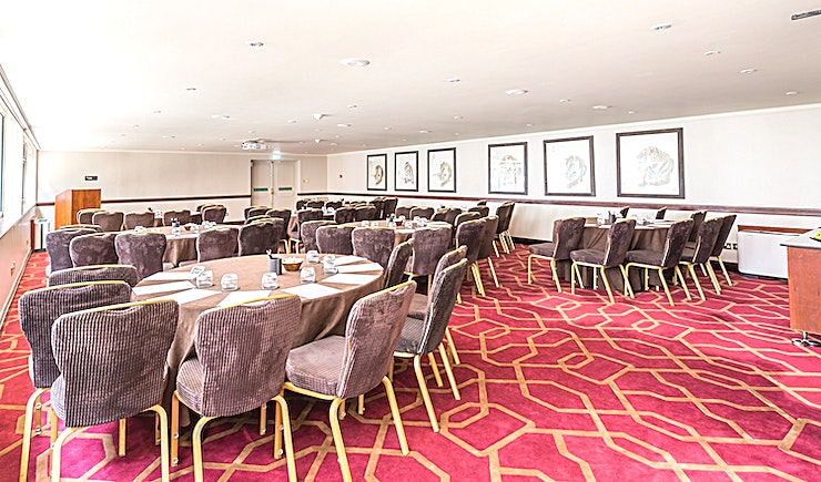Private Room 11 **Looking for an exquisitely furnished hotel venue for your next team meeting? The Radisson Blu Edwardian Heathrow has the Space for you**  This is the perfect Space for medium sized events. Taking up to 100 for a theatre style conference or for private dining.  Whether you require a venue to entertain clients or to accommodate for a corporate event. Private Room 11 is equipped to cater to your every need.  In a sublime location, a stone's throw from Heathrow Airport. International Guests will arrive with excellent ease and be greeted with comfort and great service.  For a location unmatched in convenience and stunning decor, hire Private Room 11 at the Radisson Blu Edwardian Heathrow.