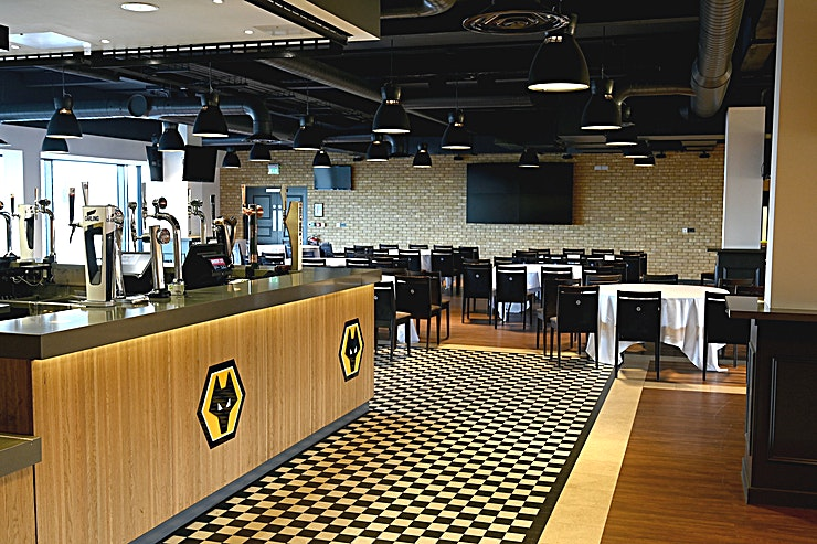 WV1 Restaurant  **Hire the WV1 Restaurant at Molineux Stadium for your next venue to hire in Wolverhampton.**