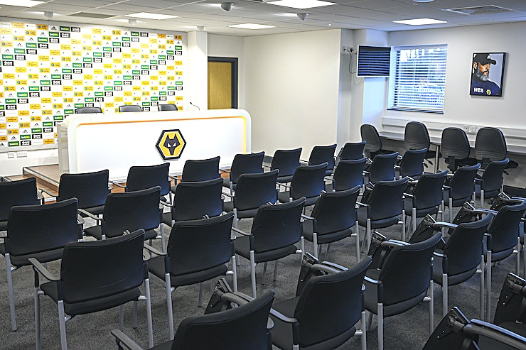 Media Suite **Molineux Stadium's Media Suite is available as an unusual presentation Space in Wolverhampton**
