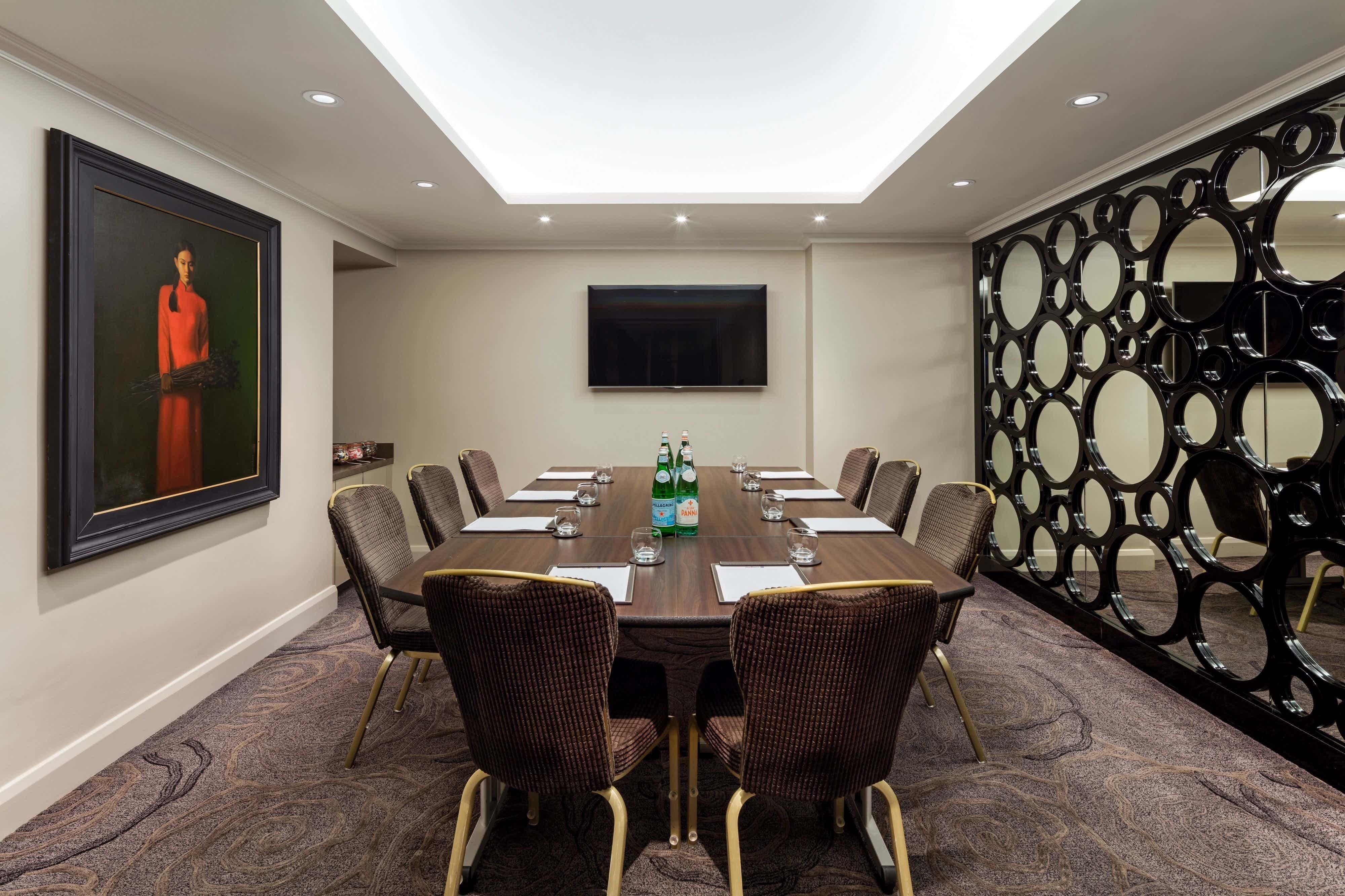 Private Room 7, Radisson Blu Edwardian, Vanderbilt
