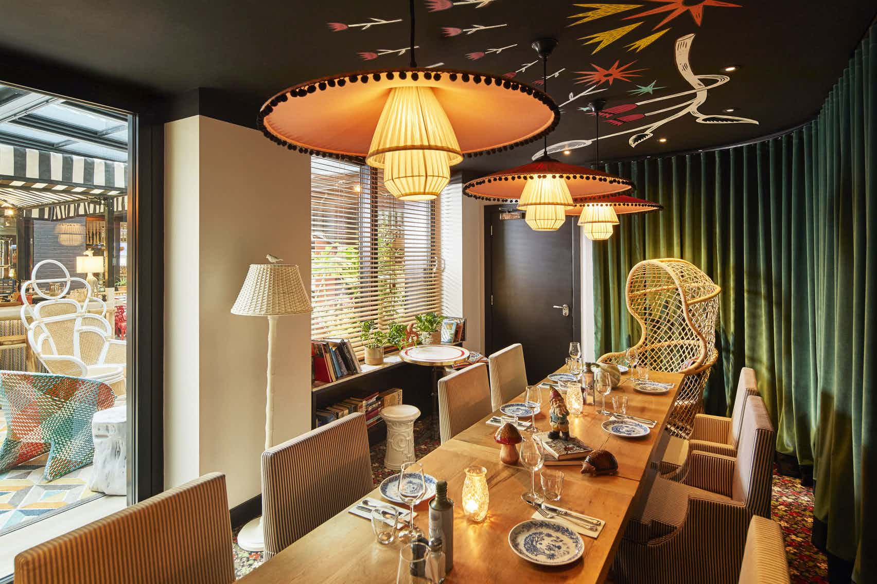 Private Dining / Boardroom, MAMA Shelter London