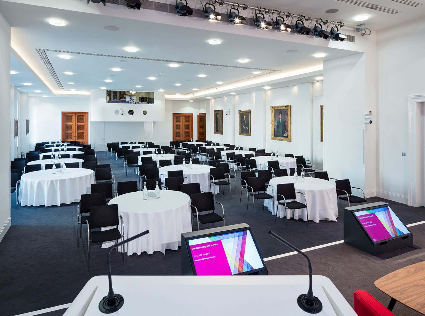 The Wellcome Trust Lecture Hall., The Royal Society
