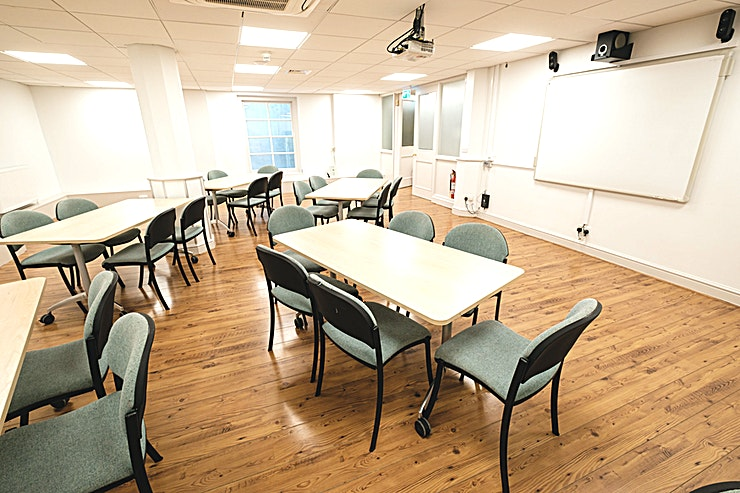 The Susanna Barford Room **Hire The Susanna Barford Room for your next meeting or training day.**  The Susanna Barford room is a completely private Space, set away from the rest of the Cathedral areas with keypad access, dedi