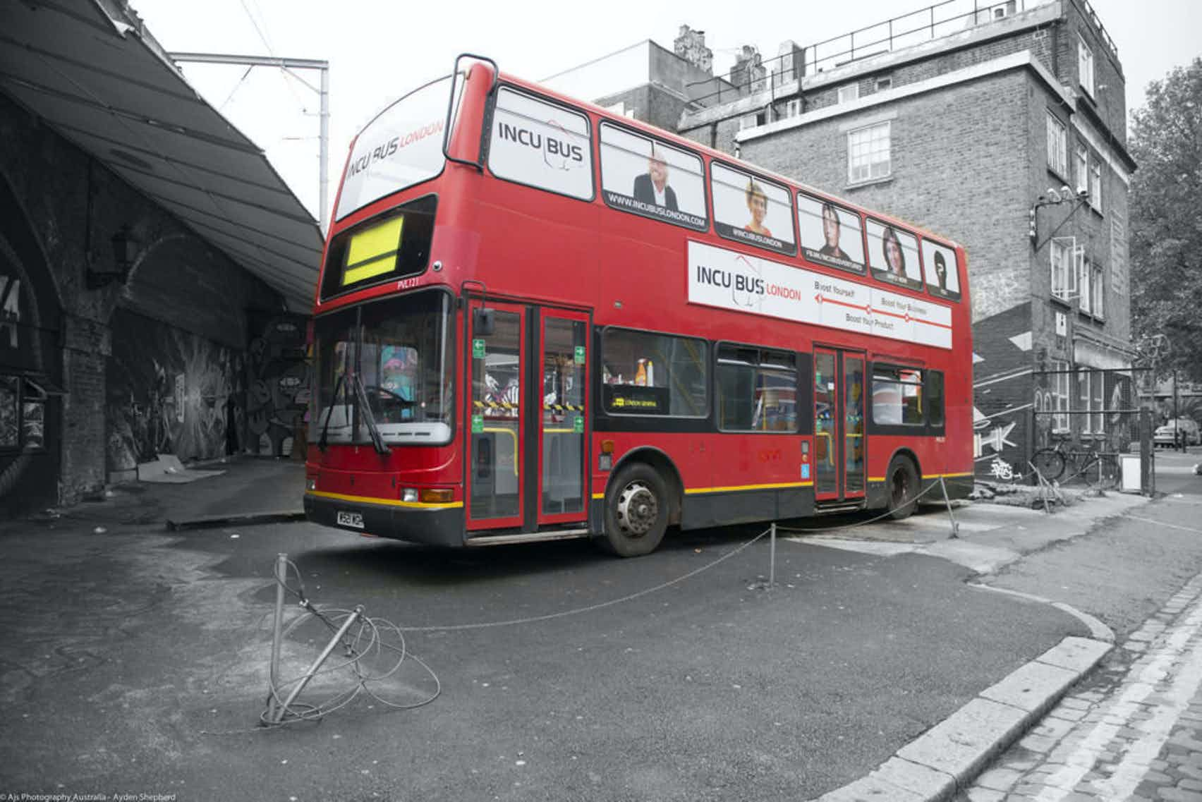 Office on Wheels!, IncuBus London