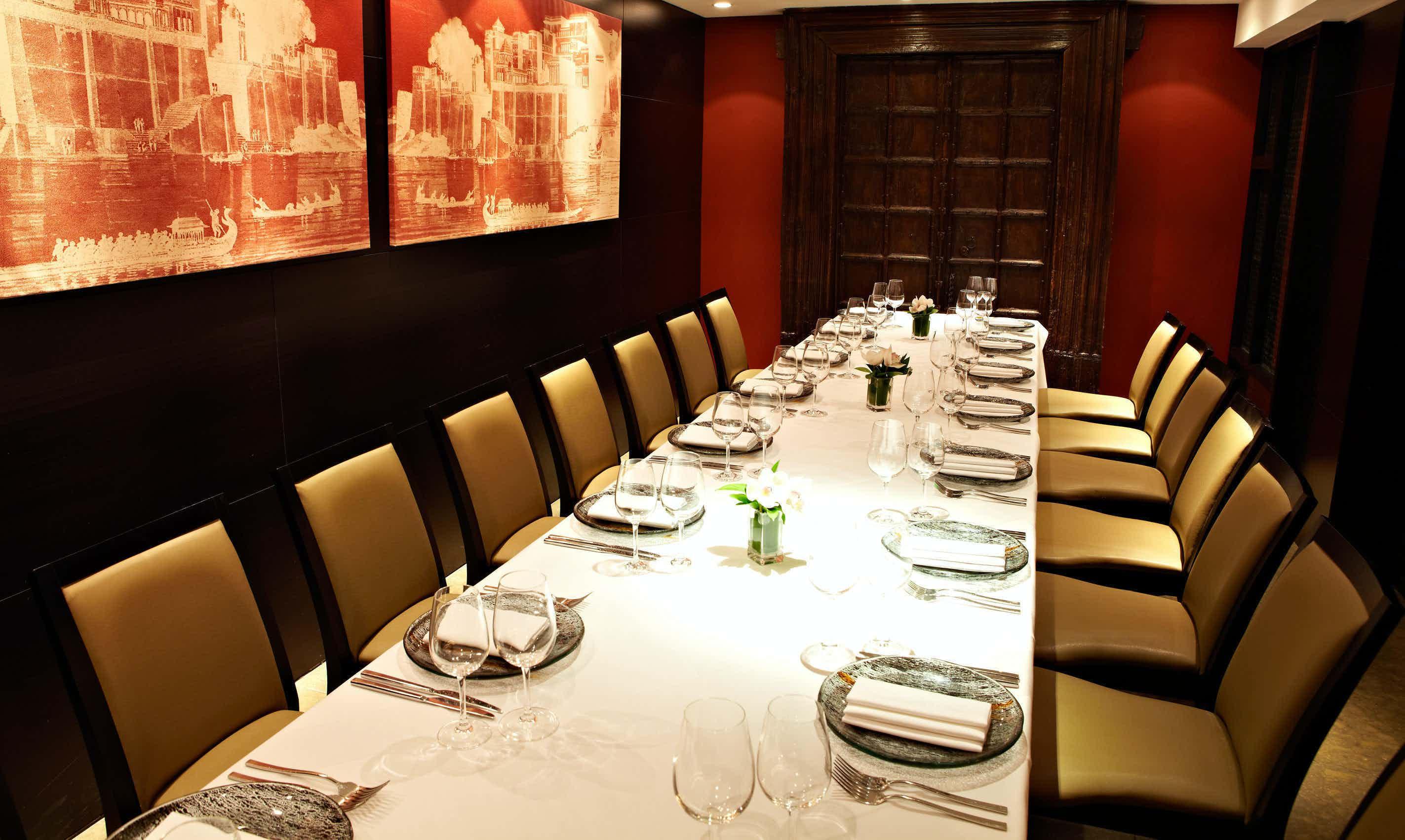 Lunch Sitting, Berkeley Room, Benares Restaurant & Bar