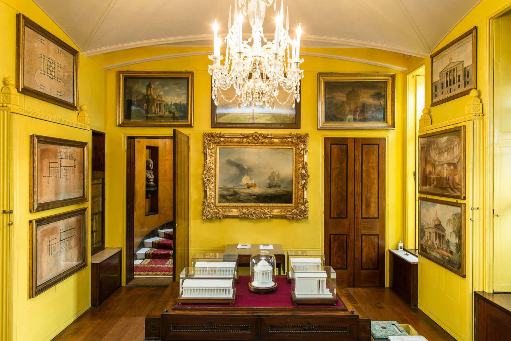 Drinks Reception, whole Museum hire, Sir John Soane's Museum