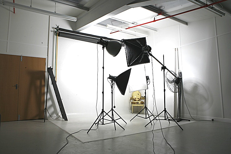 Photographic Studio We are located by the river Thames with great river views.