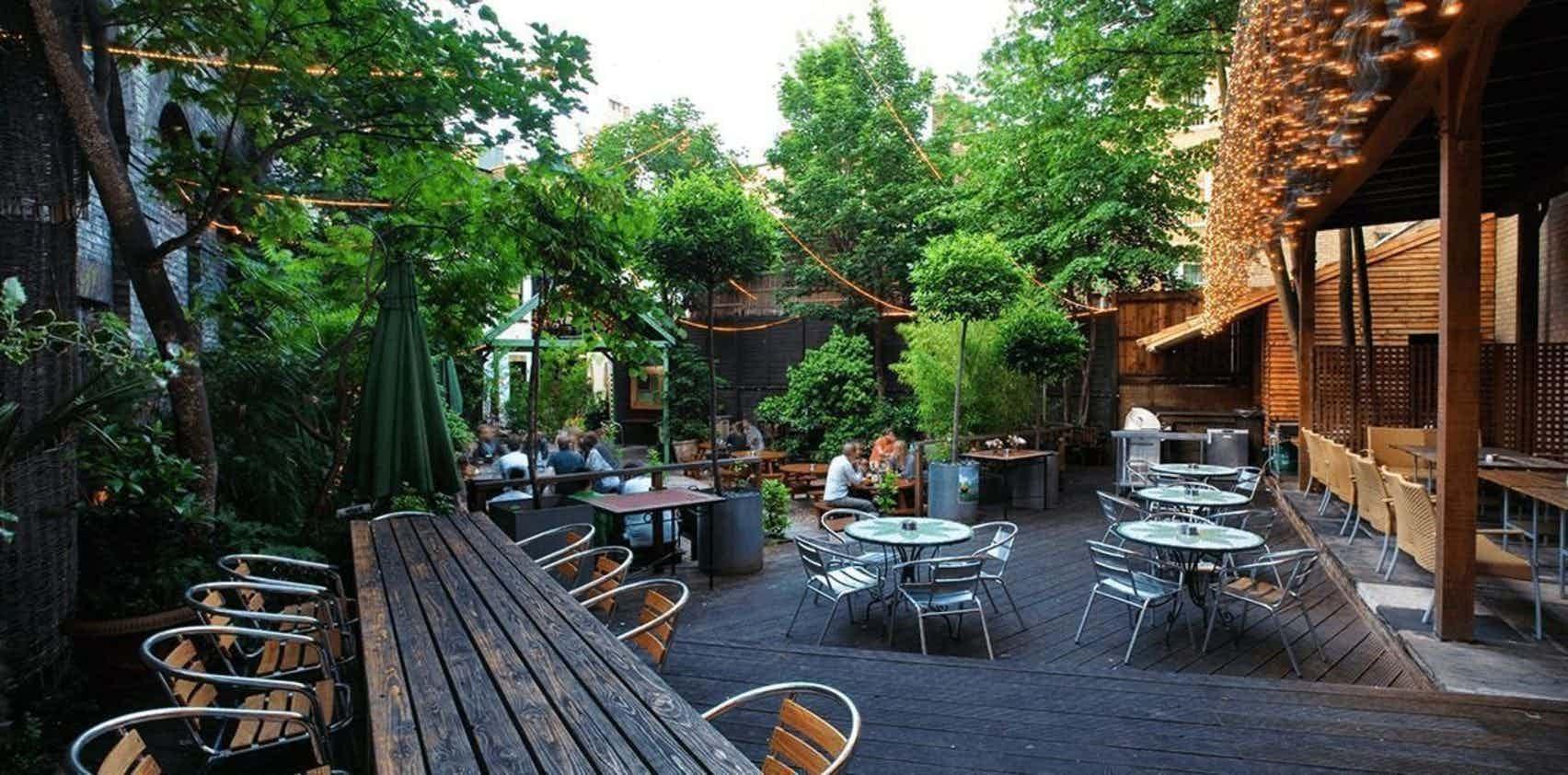 Whole Venue, Garden Bar