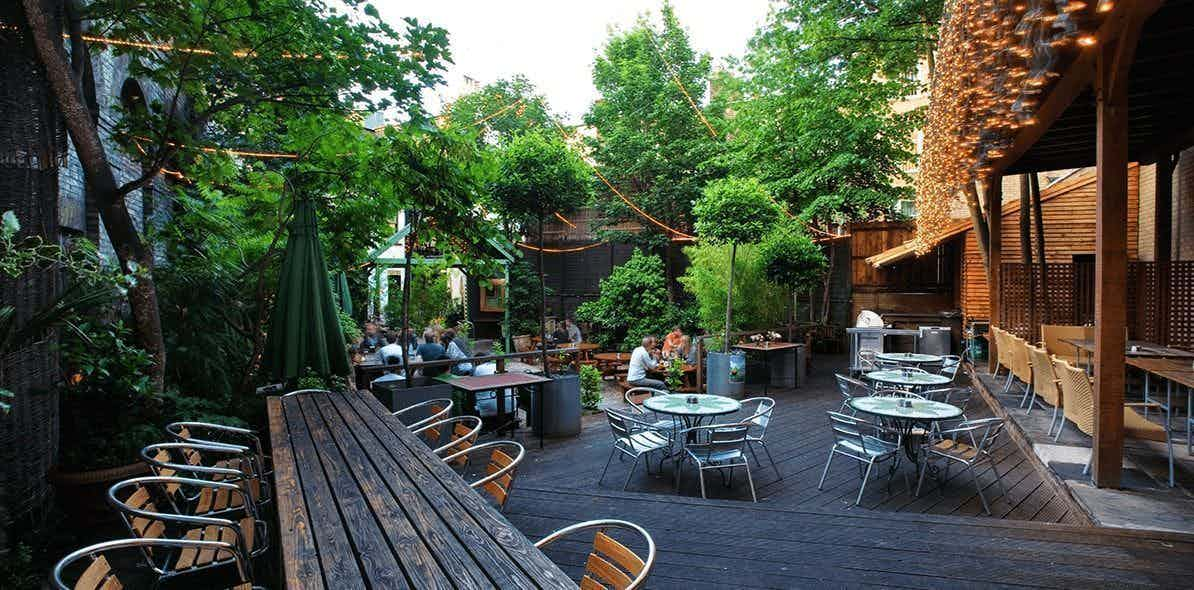 Whole Venue, Garden Bar