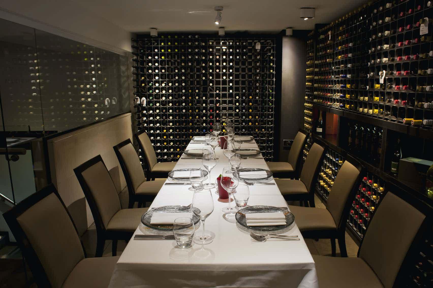 Dinner Sitting, Wine Room, Benares Restaurant & Bar