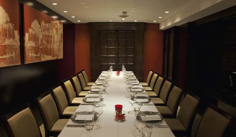 Dinner Sitting, Berkeley Room, Benares Restaurant & Bar