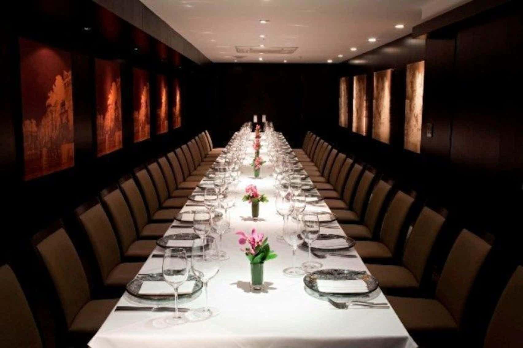 Lunch Sitting, Dover Room, Benares Restaurant & Bar