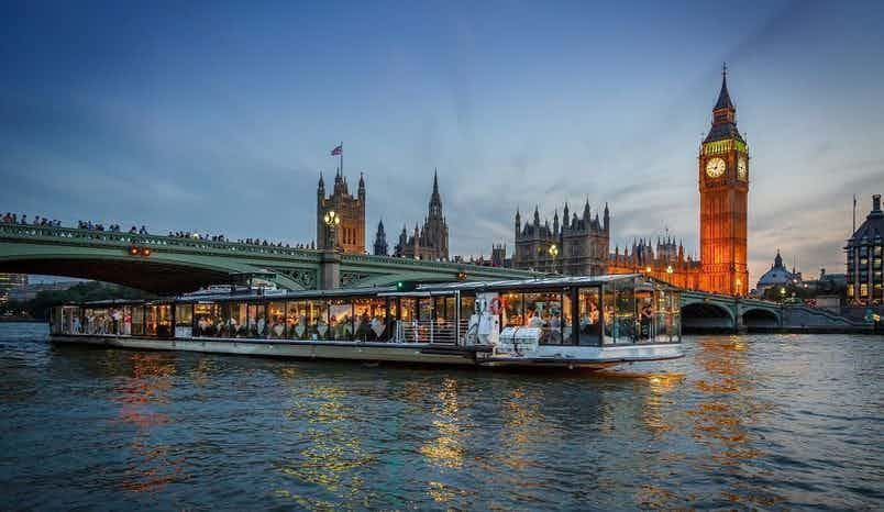 Glass Room | Dinner Sailing, Bateaux London