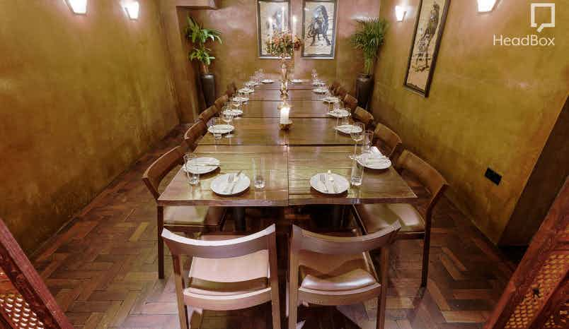 Private Dining Room, Ember Yard