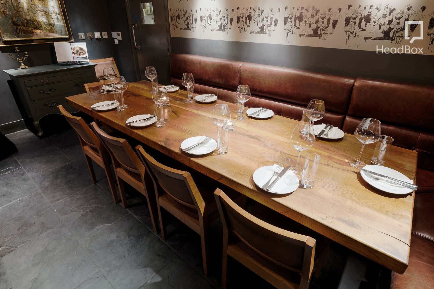 Lunchtime Private Dining Room, Dehesa