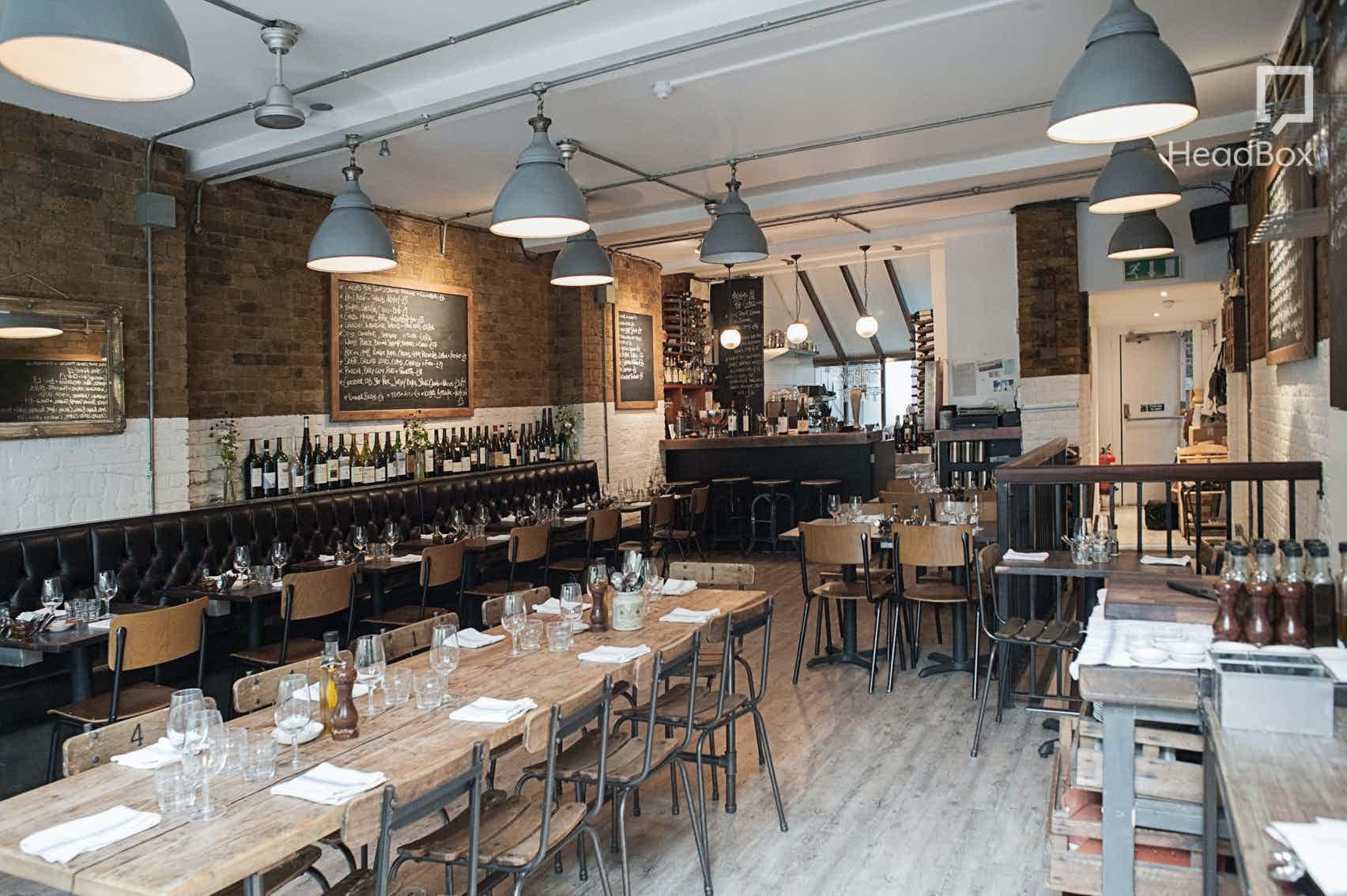 Exclusive Restaurant Hire, 8 Hoxton Square
