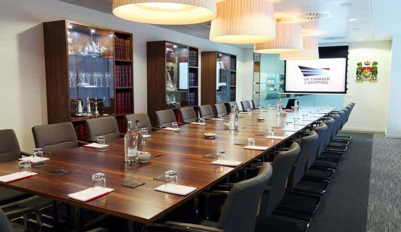 The Boardroom, UK Chamber of Shipping
