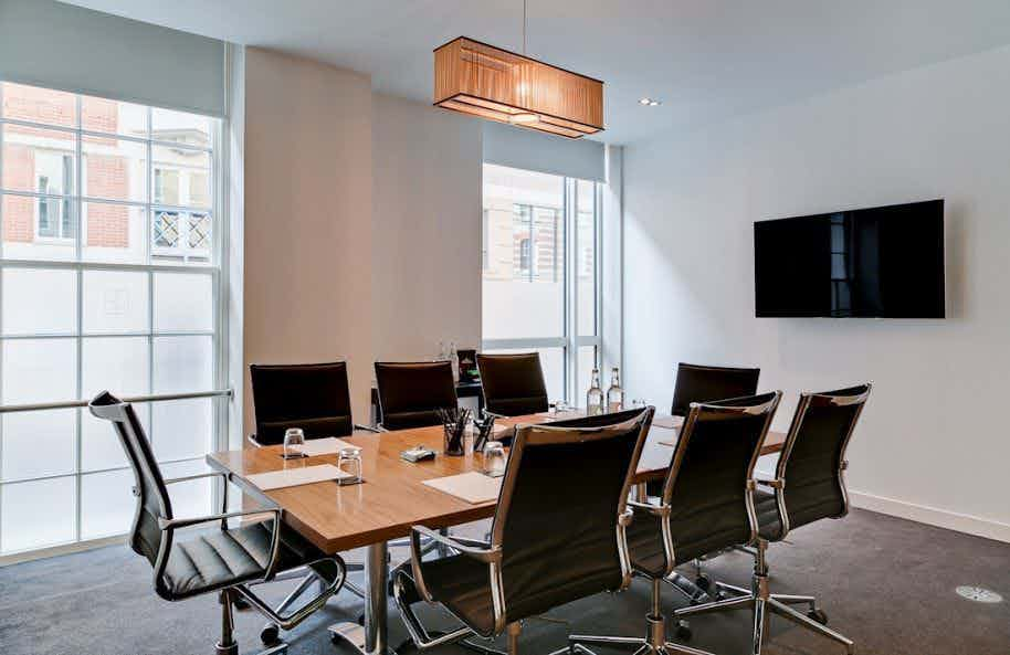 Meeting Room 1, The Clubhouse 50 Grosvenor Hill
