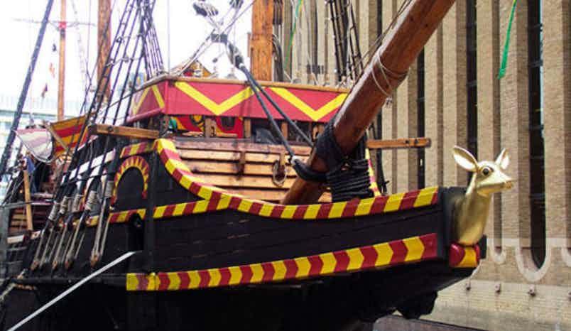 Ship, The Golden Hinde