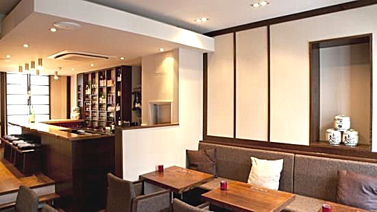 Dinner, Upstairs Bar Upstairs in our Knightsbridge branch is a large open space suitable for up to 30 people seated. We are pleased to offer this out to people who would like a space to unwind for meal with friends and fa