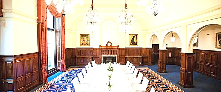 The River Room **Hire the River Room at The Royal Horseguards, formerly the Ladies' Lounge of the National Liberal Club, for your next conference or meeting venue hire in London.**  The River Room is a thoroughly