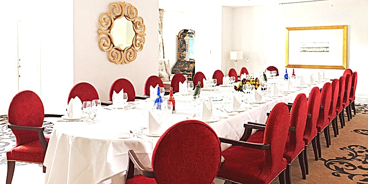 Thames Suite **For a corporate event in a 5 star hotel venue, this Space is ideal for you.**  The Thames Suite overlooks the Terrace. This bright and versatile room is ideal for board meetings, training events,