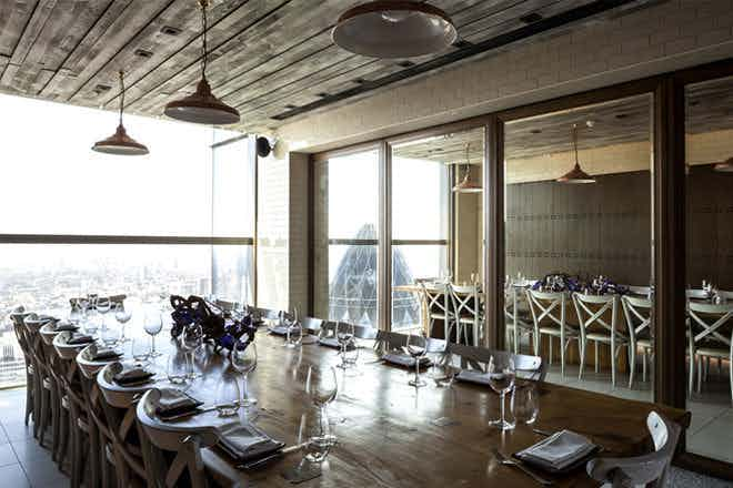 Private Dining Room - Lunch, Duck & Waffle