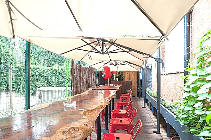 Upper Floor, Dinner Sitting **Did you know you can hire the upper floor at SUSHINOEN for one of the best private dining venues in London at Whitechapels favourite Japanese restaurant.** 
