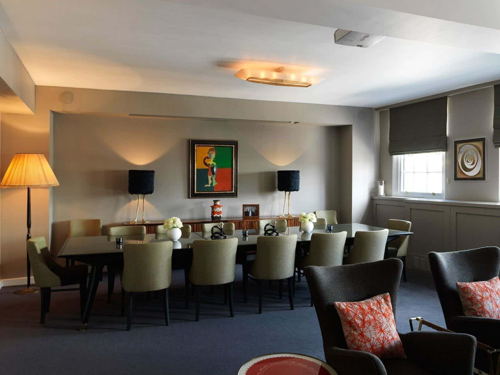 2nd Floor Private Dining room, Day Hire, Bird of Smithfield