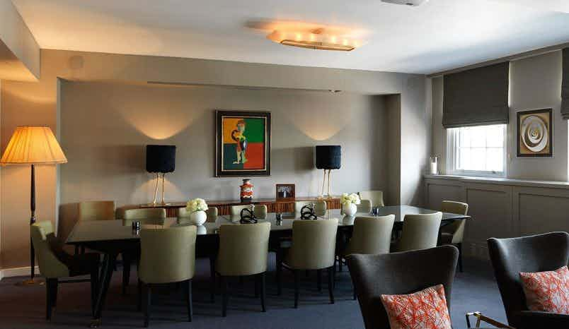 2nd Floor Private Dining room, Evening Hire, Bird of Smithfield