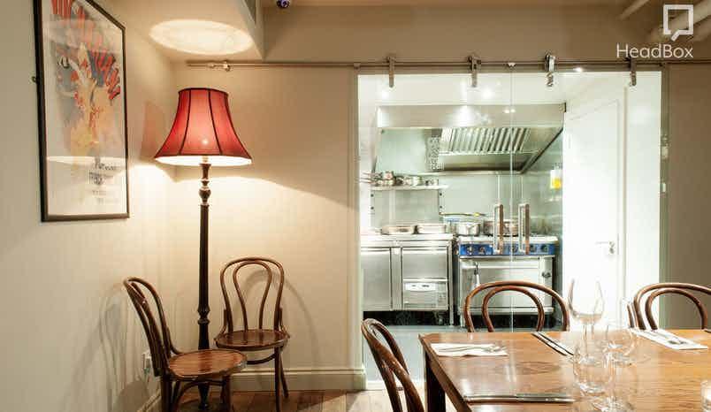 Private Room, Dinner sitting , Vinoteca Farringdon