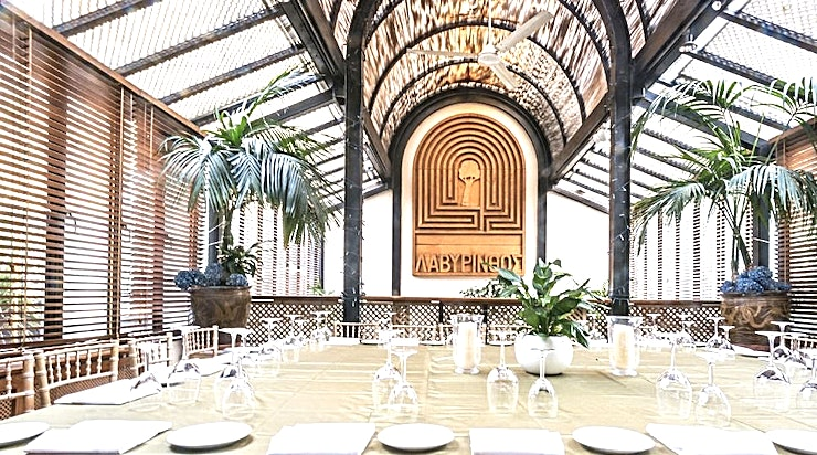Lunch, Full Restaurant Iconic, classic Italian restaurant established in 1963 by Lorenzo and Mara Berni. Osteria San Lorenzo opened with nine tables and it was an instant success. It now seats up to 180 with 2 private dinin