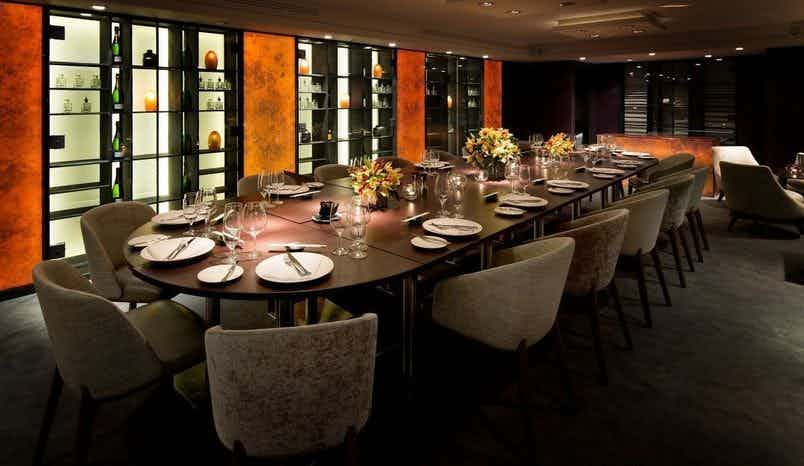 Private Dining Room, Salmontini