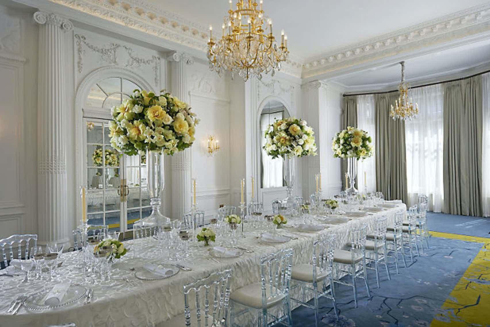The Ballroom, Lunch, Mandarin Oriental