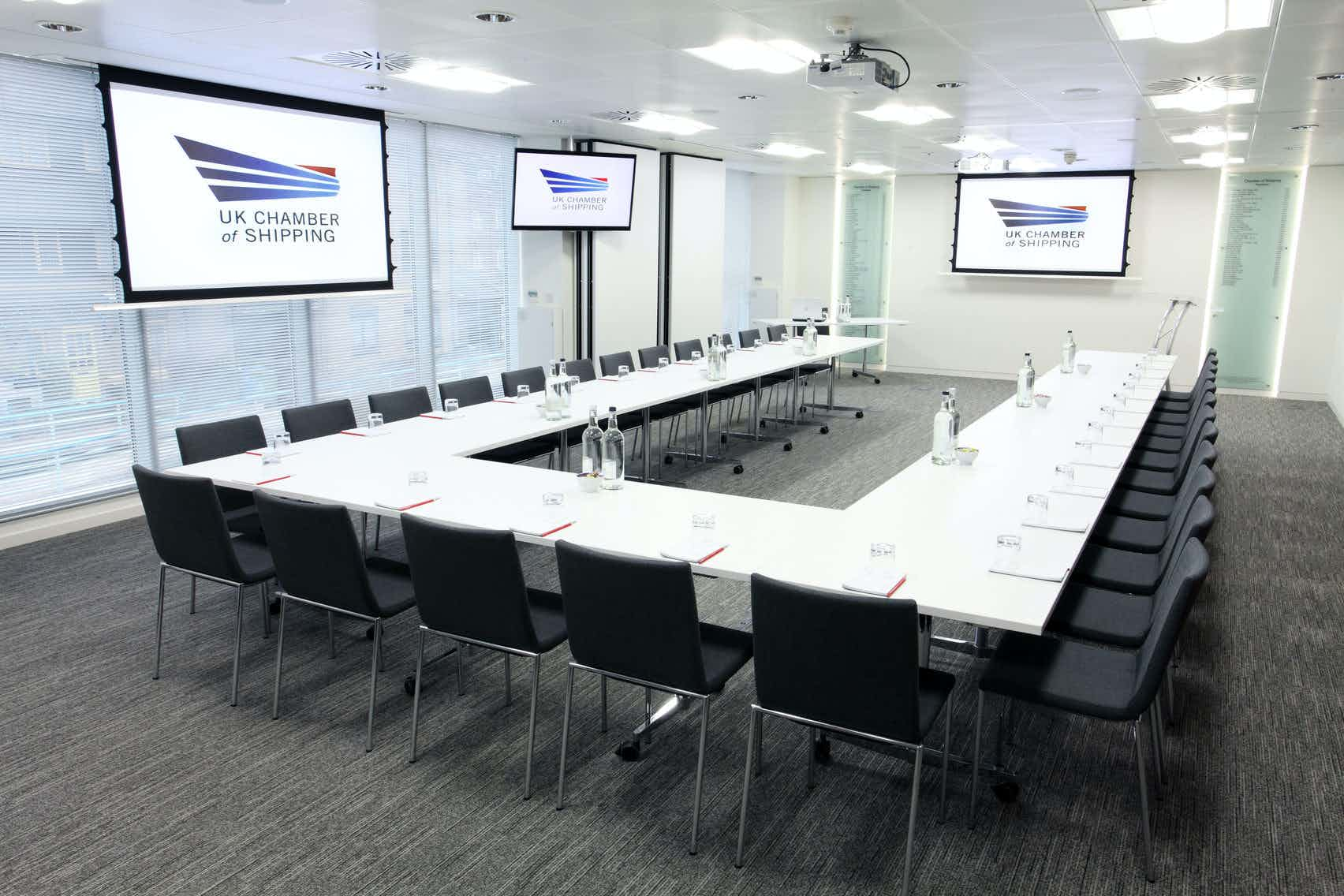 Rooms 2 + 3, UK Chamber of Shipping