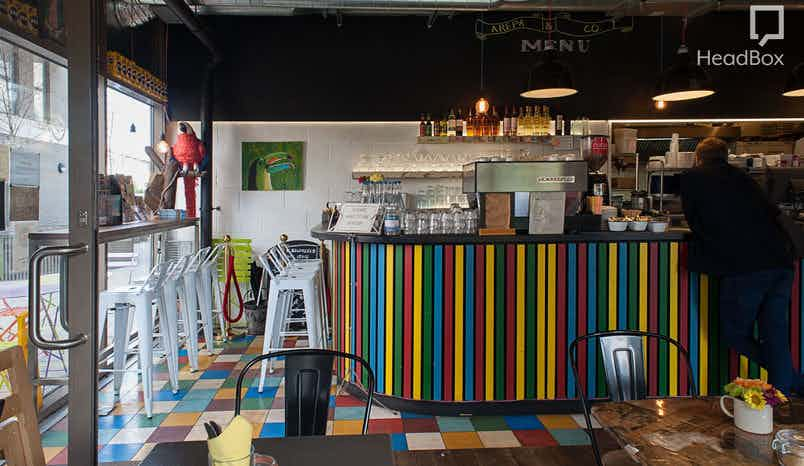 Exclusive Venue Hire, Arepa and Co