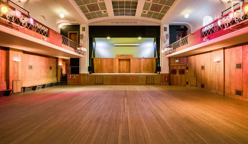 Main Hall, Evening Hire, Conway Hall