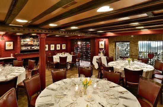 The Red Room , Bleeding Heart Restaurant