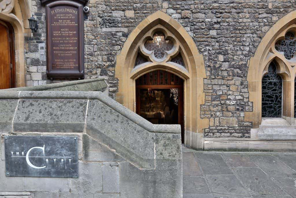 Lunch, The Crypt, The Crypt