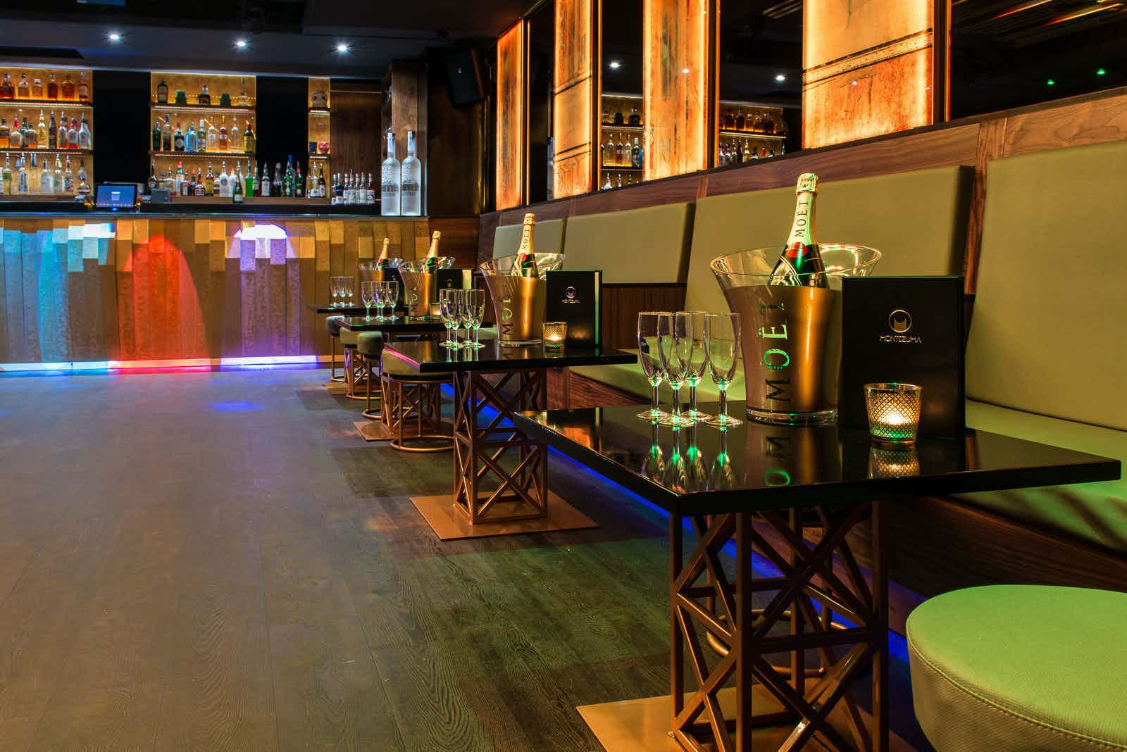 Day Hire, Full Club, Montezuma London