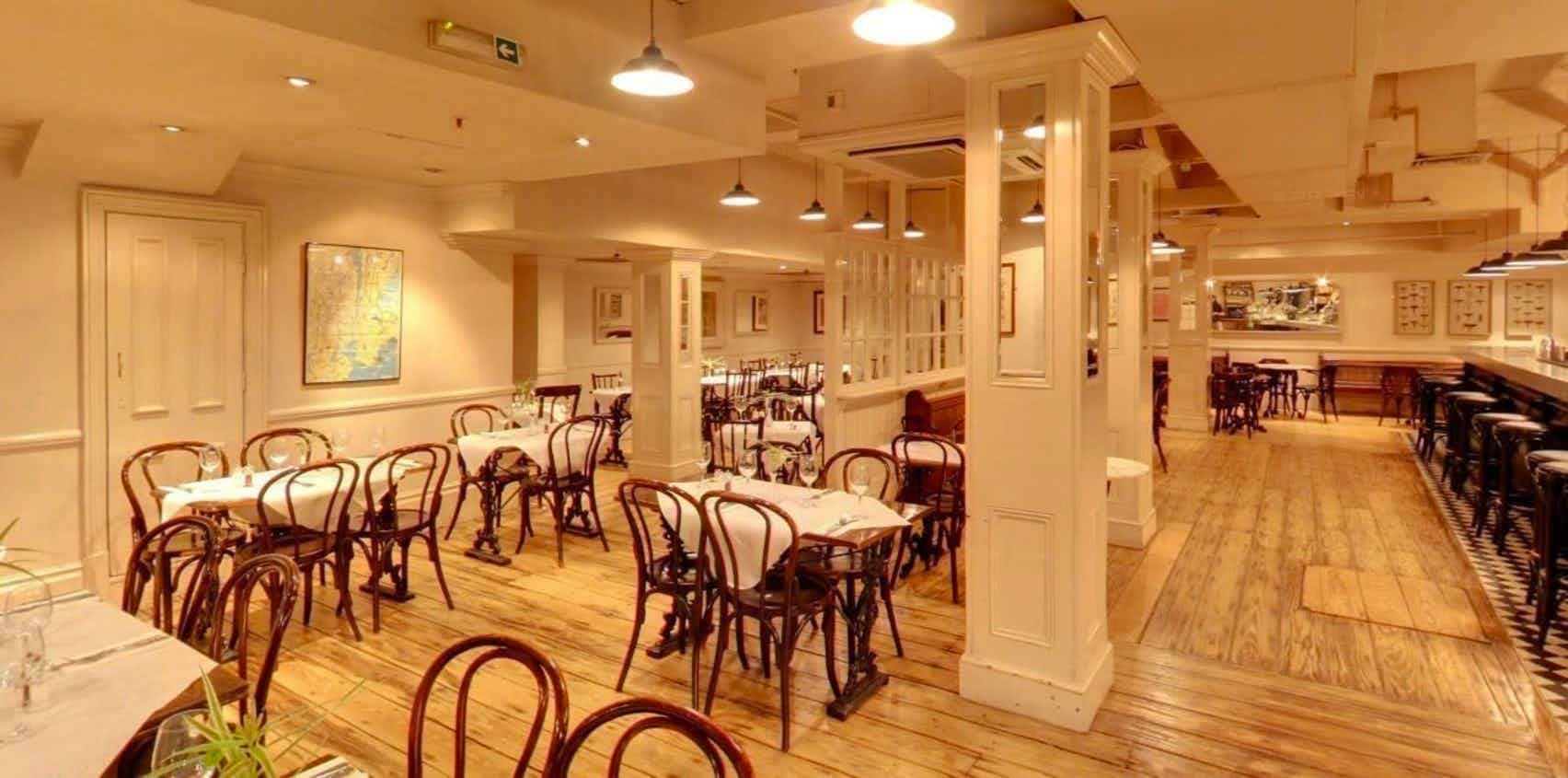 Dinner, Exclusive Hire, Bedford & Strand