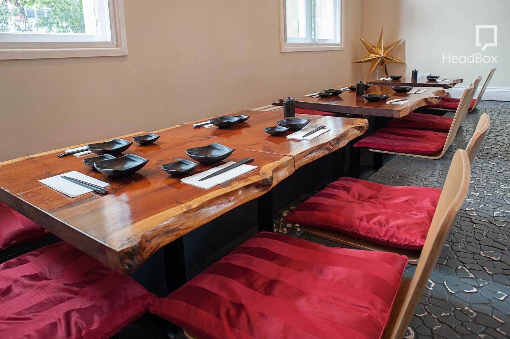 Upper Floor, Lunch Sitting, SUSHINOEN