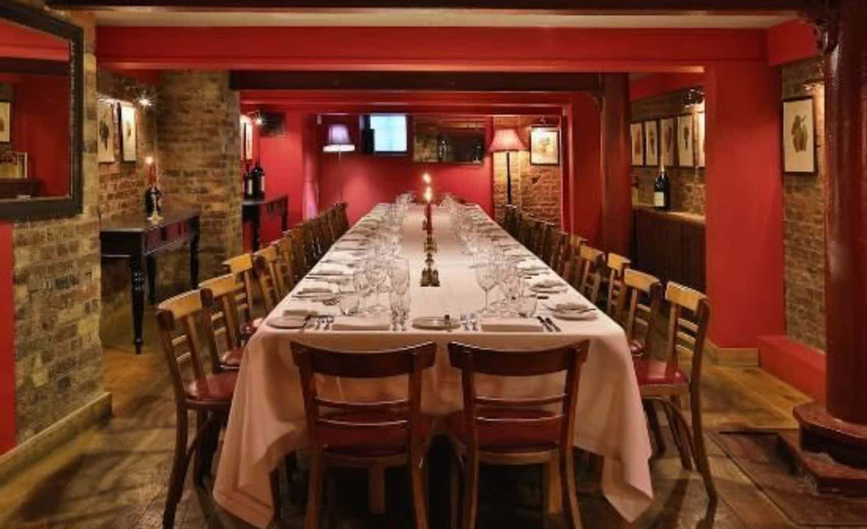 The Wine Cellar, Bleeding Heart Restaurant